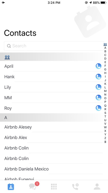 WePhone-International Calling screenshot-8