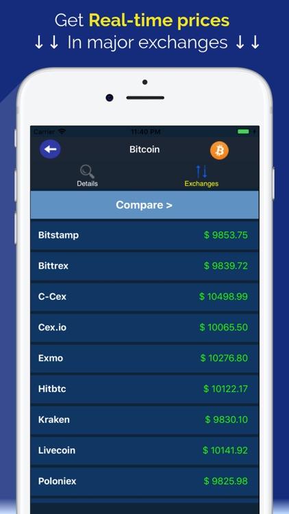 Coin Markets - Crypto Tracker screenshot-3