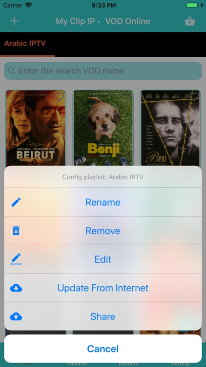 IPTV Player - M3U Playlist