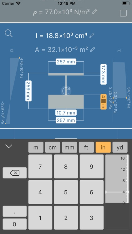 Deflection Beam Calculator screenshot-4