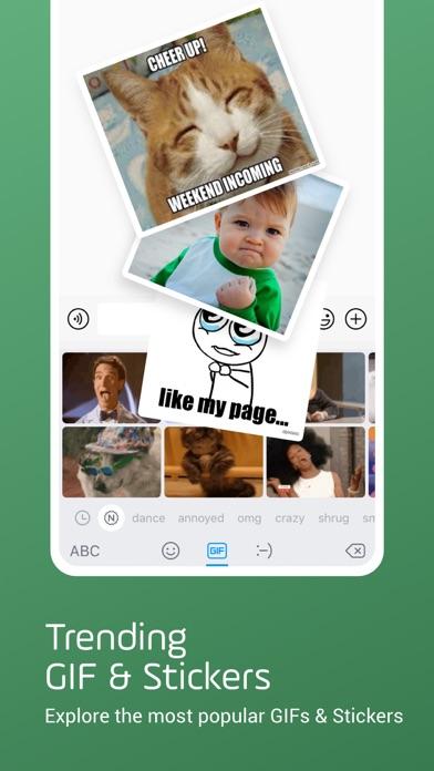 Facemoji Emoji Keyboard Screenshot on iOS