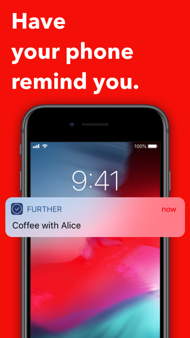 Further: Get Things Done Screenshots
