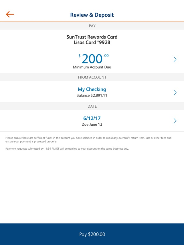 Sensational Suntrust Mobile App On The App Store Wiring 101 Ferenstreekradiomeanderfmnl
