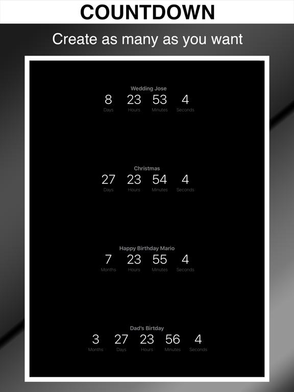 Countdown Timers ツ screenshot 6