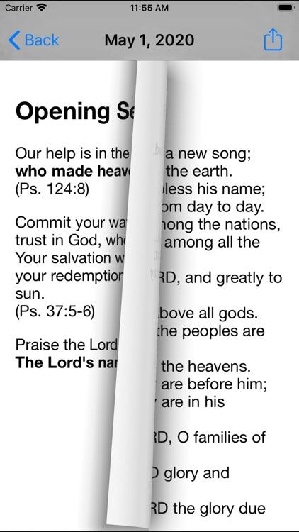 Daily Prayer PC(USA) screenshot-3