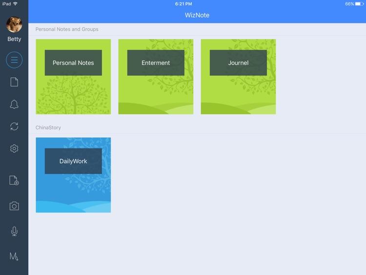 WizNote for iPad screenshot-4