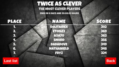 Twice as Cleverのおすすめ画像4