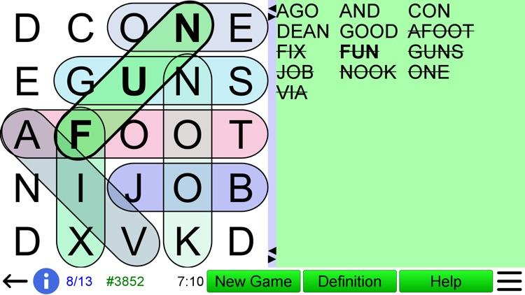 Word Search Ultimate screenshot-5