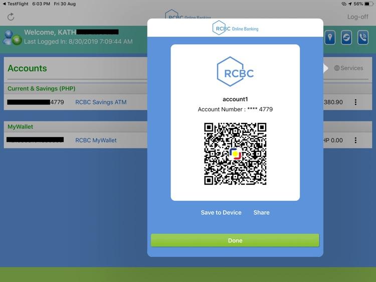RCBC Online Banking for iPad screenshot-4
