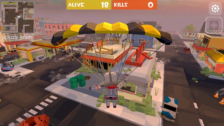 Grand Battle Royale: Pixel FPS screenshot-5