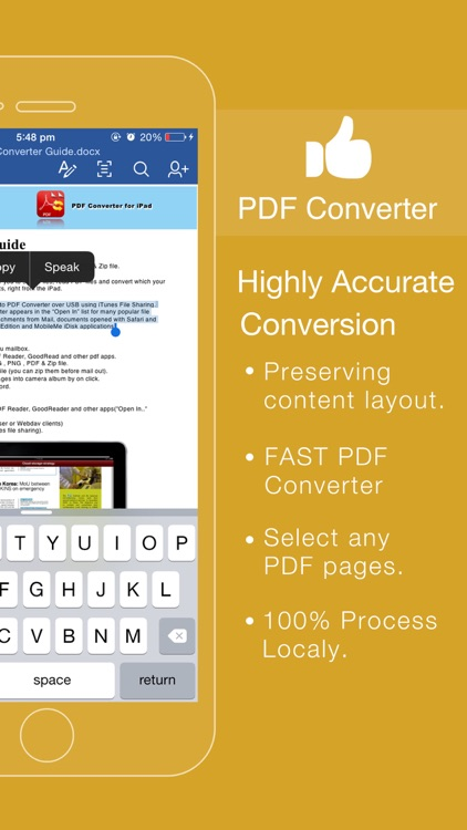 PDF Converter - PDF to Office by Flyingbee Software Co., Ltd.