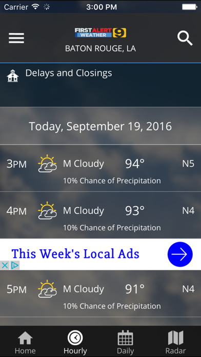 Wafb First Alert Weather review screenshots