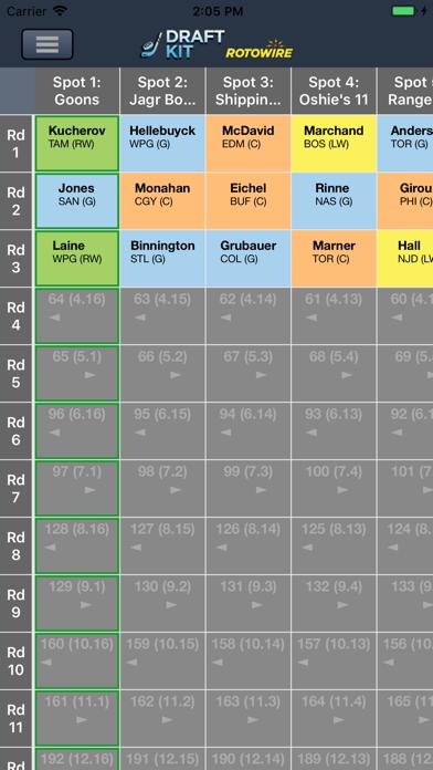 Fantasy Hockey Draft Kit '19 screenshot 4