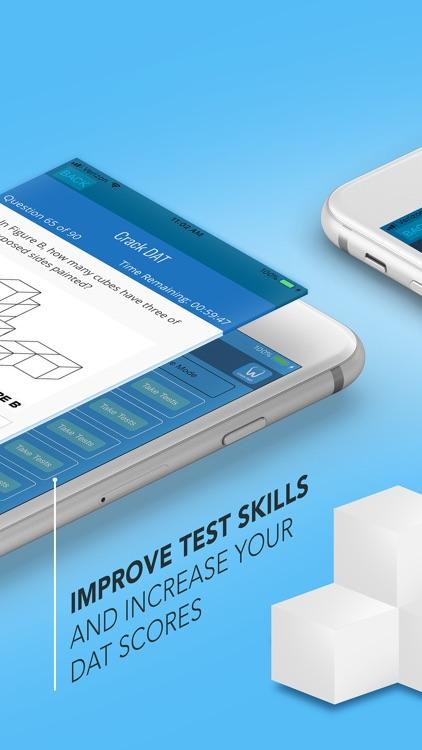 CrackDAT Dental Admission Test screenshot-0