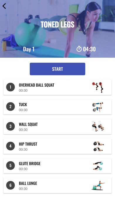バランスボール トレーニングのおすすめ画像6