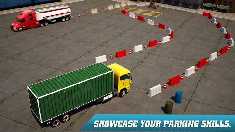 Trucker Parking 3D screenshot-2