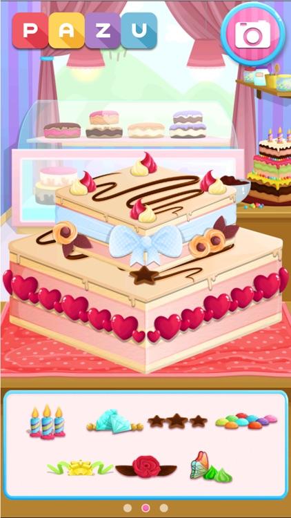 Cake maker Cooking games