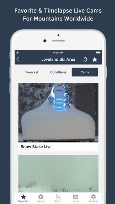 Screenshot for OpenSnow in Peru App Store