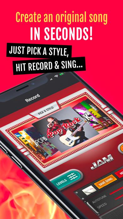 Jam: Instant Song Creator screenshot one