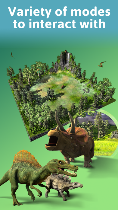 Screenshot for Monster Park - AR Dino World in Czech Republic App Store