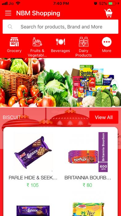 NBM Shopping screenshot 1