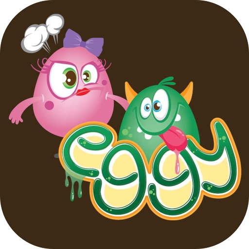 Eggy and Eggyna Monsters