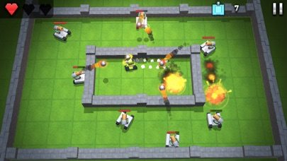 Tanks Hero - Classic Fun Play Screenshot on iOS