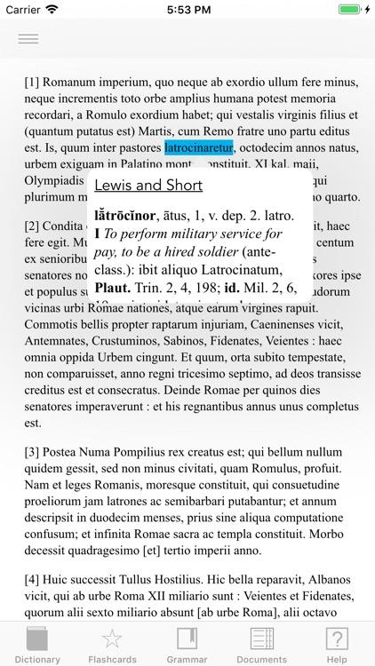 Scriba (Latin Dictionary) screenshot-4