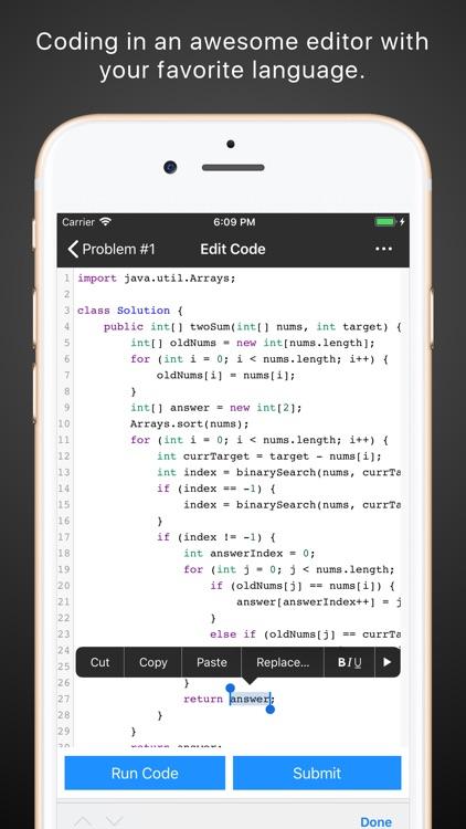 Leetcode Client Pro screenshot-3