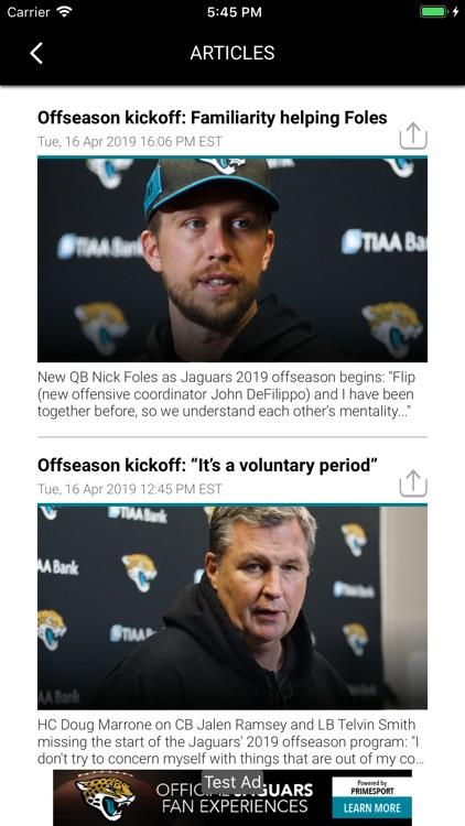 Official Jacksonville Jaguars screenshot-3