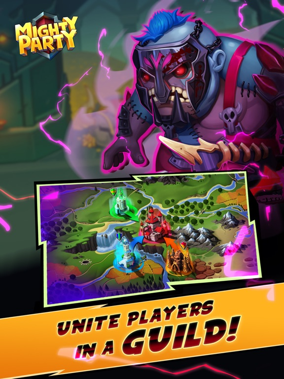 Mighty Party: Battle Heroes screenshot 10