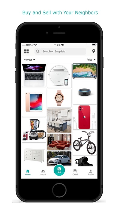 Snaplista: #1 Buy and Sell App screenshot one