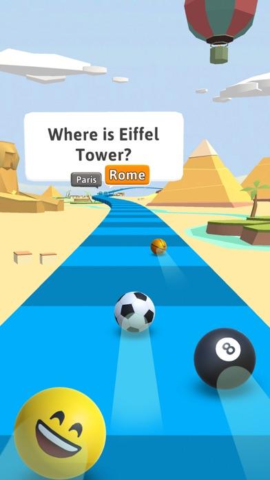 Trivia Race 3D - Roll & Answer screenshot 1