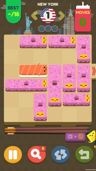 Push Sushi - slide puzzle screenshot 1