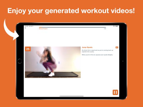 Touch Me - Custom Workouts screenshot 4