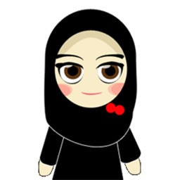 Muslim Hijab Girl Greetings