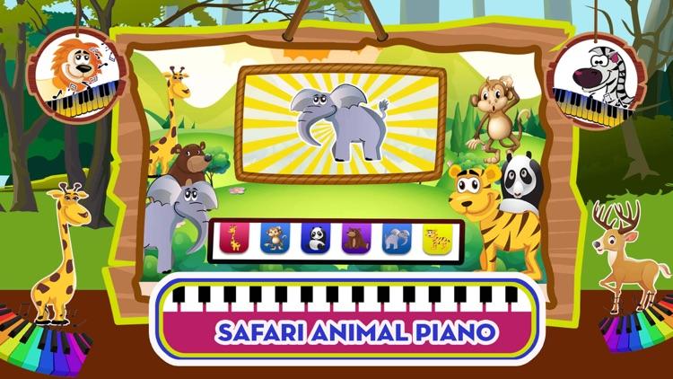 Baby Piano Animal Sounds Game screenshot-0