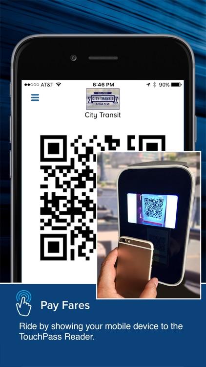 TouchPass Transit screenshot-3