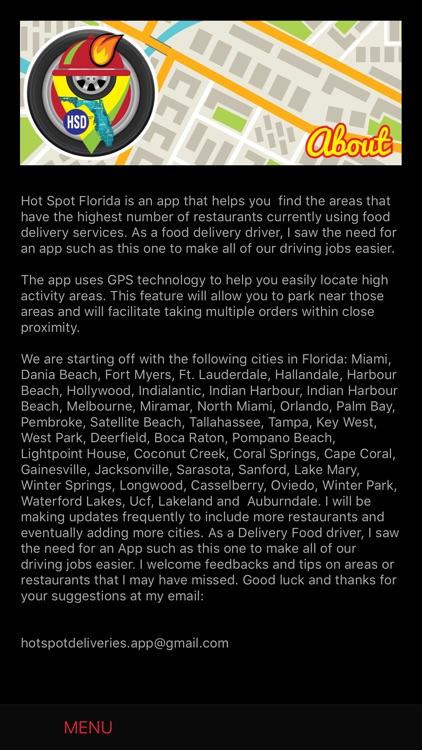 Hot Spots Florida