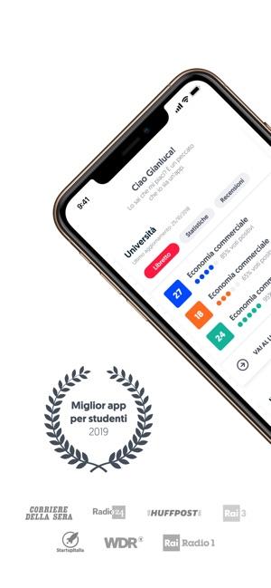 Calendario Esami Unibg Economia.Uniwhere App Per Universita Su App Store
