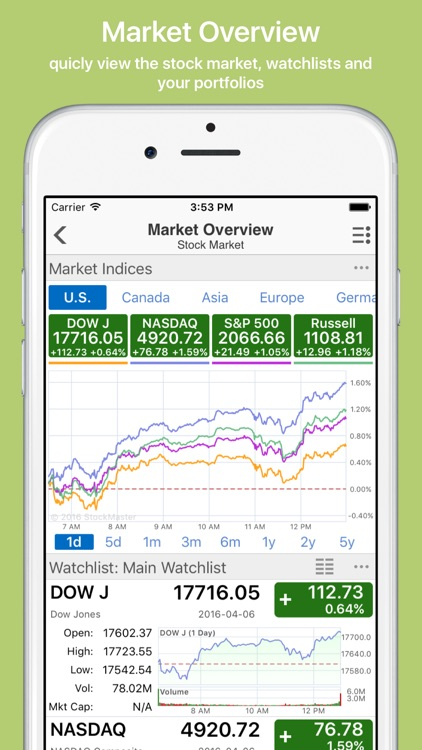 Stock Master: realtime stocks screenshot-0