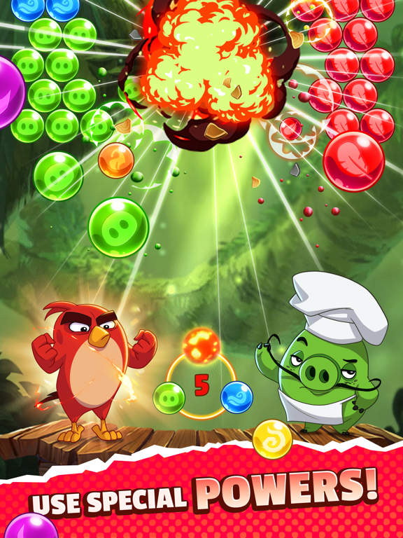 Angry Birds POP 2 screenshot 8