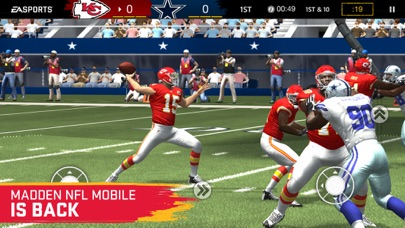 Screenshot for MADDEN NFL MOBILE FOOTBALL in United States App Store