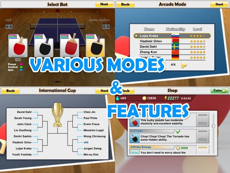 Virtual Table Tennis HD screenshot-4