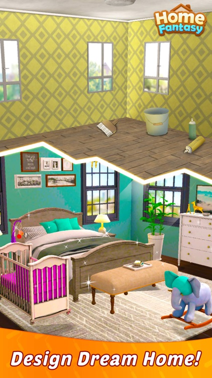 Home Fantasy: Home Design Game screenshot-1