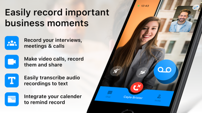 Interview & Meeting Recorder Screenshot