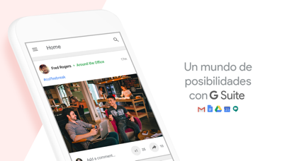 Screenshot for Google+ para G Suite in Spain App Store