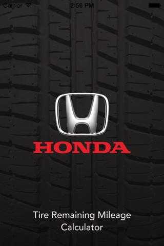Honda Tire Mileage Calculator - náhled