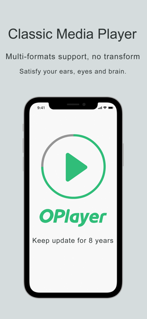 ‎OPlayer Lite - media player Screenshot