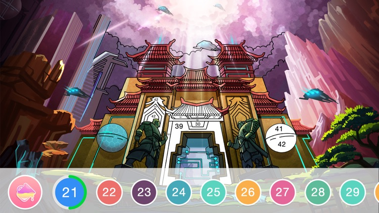 Fun Coloring - Color By Number screenshot-8